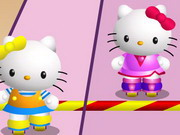 Hello Kitty Roller Rescue Game