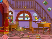 Rapunzel Tower Clean Up Game