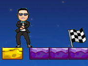 action, adventure , boy , girl , jumping , kid , platform , gangnam , style