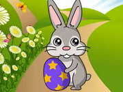 Easter Bunny Collect Carrots Game