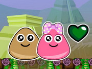action, adventure , boy , cartoon , funny , girl , kid , platform , pou , two players , adventure