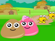Pou Village Adventure Game