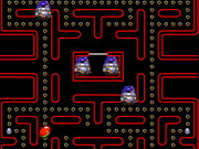 Sonic Pacman Game