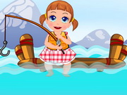 Baby Seven Fishing Time Game