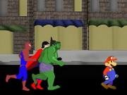 action, batman , mario , spiderman , run , hero