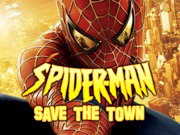 Spiderman: Save The Town Game