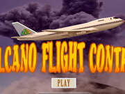Volcano Flight Control Game