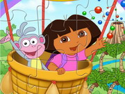 Dora And Boots Jigsaw Game
