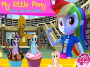 My Little Pony Cake Decoration Game