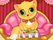 Kitty Nail Salon Game
