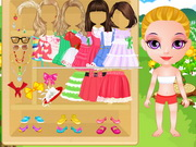 Baby Halen Holiday Dress Up Game