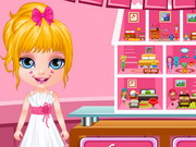 Baby Barbie Hobbies Doll House Game