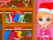 Baby Barbie Christmas Prep Game