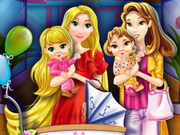 Mother Princesses Mall Shopping Game