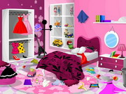 Barbie Bedroom Clean Game