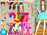 Barbie Sleepover Dressup Game