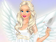 Barbie Angel Dressup Game