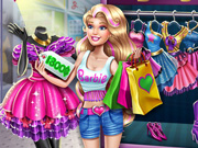 Barbie Realife Shopping Game