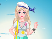 Barbie Summer T-shirt Makeover Game