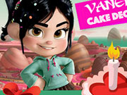 Vanellope Cake Decoration Game