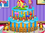 Masha And The Bear Cake Game