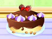 Cooking Chocolate Cheesecake Game