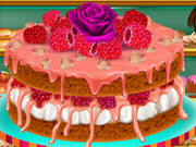 Rosewater And Raspberry Sponge Cake Game