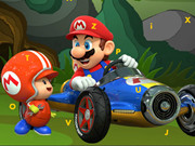 Mario Cars Hidden Letters Game