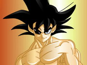 Dragonball Z Goku Dressup Game
