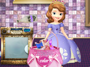 cartoon , cleaning , princess , sofia , the , first , washing , dresses