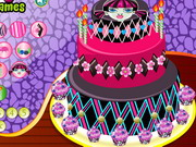 Marvellous Monster High Cakes Game
