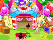 Spot The Differences Circus Game