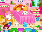 cartoon , cleaning , laundry , and , sort , out , bedroom