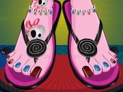 Monster High Pedicure Game