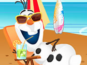 Olaf Summer Vacation Game