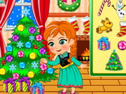 Princess Anna Christmas Slacking Game