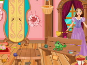 Rapunzel House Cleaning And Makeover Game