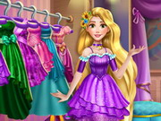 Rapunzel Wardrobe Clean Up Game