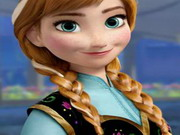 Anna Frozen-hidden Sports Game