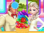 Rainbow Ice Cream Cooking Game