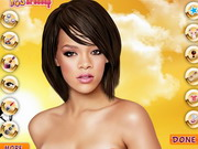 Rihanna Celebrity Makeover Game