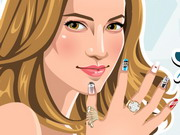 Jennifer Lopez Nail Salon Game
