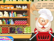 Christmas Cake Shop Game