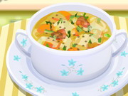 Delicious Vegetable Soup Game