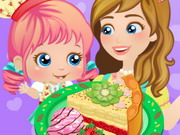 Mommy And Me Cooking Pie Game