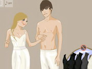couple , dress up , love , wedding , getting , married , dressup