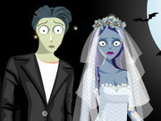 Halloween Couple Dressup Game