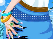 Spring Manicure Game