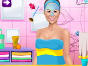 Miley's Show Rush Makeover Game