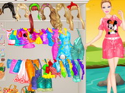 Barbie Picnic Princess Dressup Game